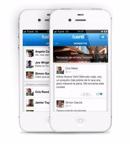 Tuenti Social Messenger para iPhone