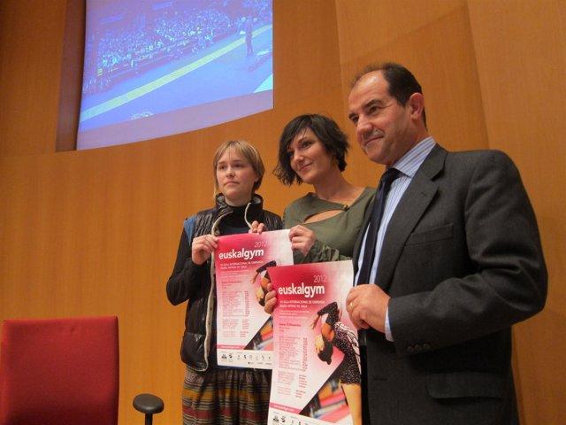 Presentación  de la gala Euskalgym.