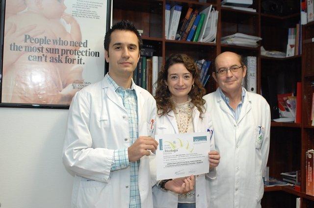 Los dermatólogos premiados por estudio alopecia