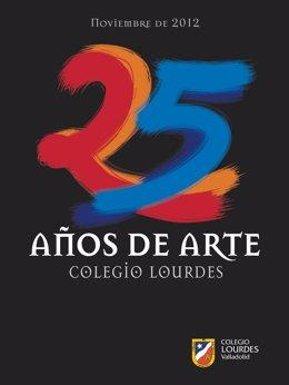Portada del catálogo de la exposición 25 Años de Arte