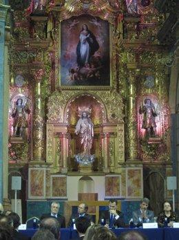 Acto de inanguración del EuroLat en el Oratorio de San Felipe Neri