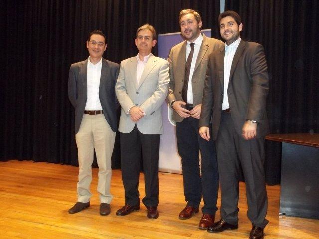 Alcalde Alguazas, reelegido por unanimidad Presidente del PP local