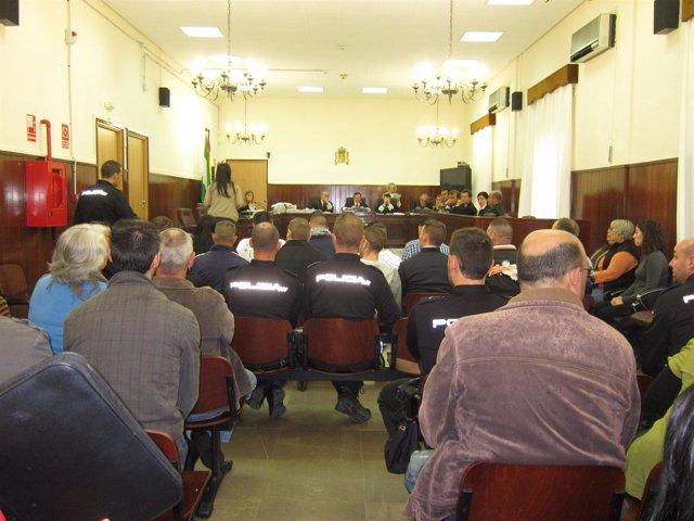 Tercera sesión del juicio.
