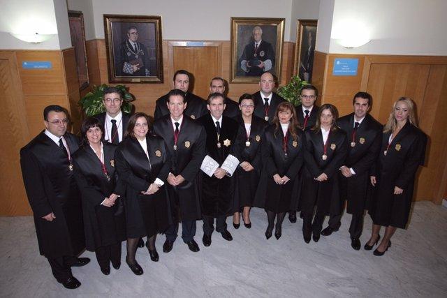 Nueva junta de gobierno del Colegio de Abogados de Málaga
