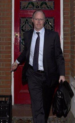 El Director General De La BBC, George Entwistle
