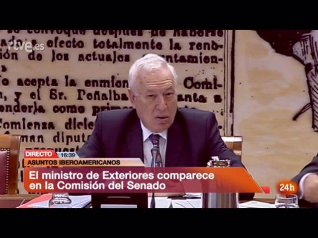 García-Margallo Comparece En La Comisión De Exteriores Del Senado