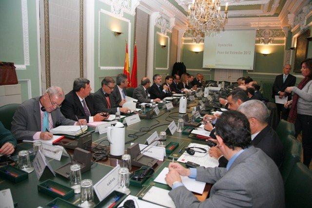 Reunión de la Comisión Mixta Hispano-Marroquí para valorar la OPE 2012