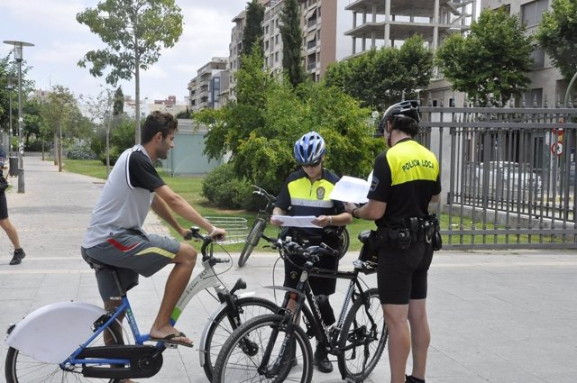 Policía Local, Bici, Ciclista, Multa