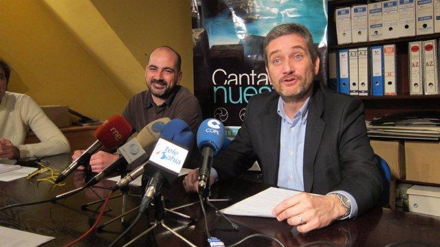 Felipe González y Javier Ceruti, portavoces de CORE