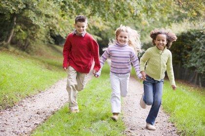 Los niños necesitan solo siete minutos de ejercicio intenso al día y no lo cumplen
