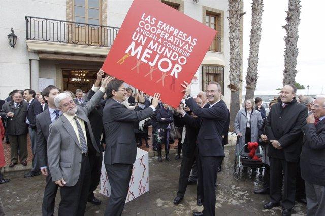 Fabra En Un Acto De La Confederación De Cooperativas De La Comunitat Valenciana