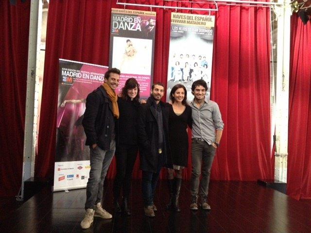 Coreógrafos del programa España Crea