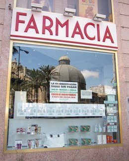 Huelga de farmacias