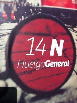 Carteles de la Huelga General, 14N