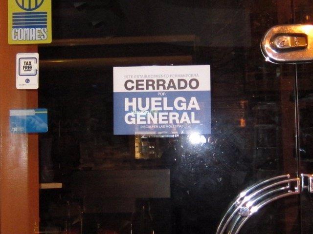 Huelga 14-N En Santander