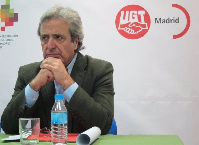 José Ricardo Martínez, Secretario General De UGT Madrid