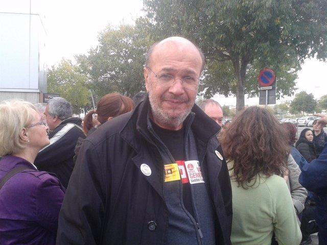 J.C.Gallego, CC.OO. De Catalunya