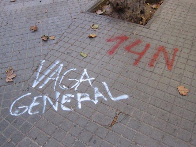 Huelga general 14N Catalunya / Cataluña