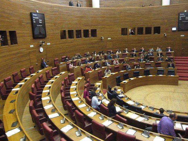 Pleno De Las Corts El Día De La Huelga