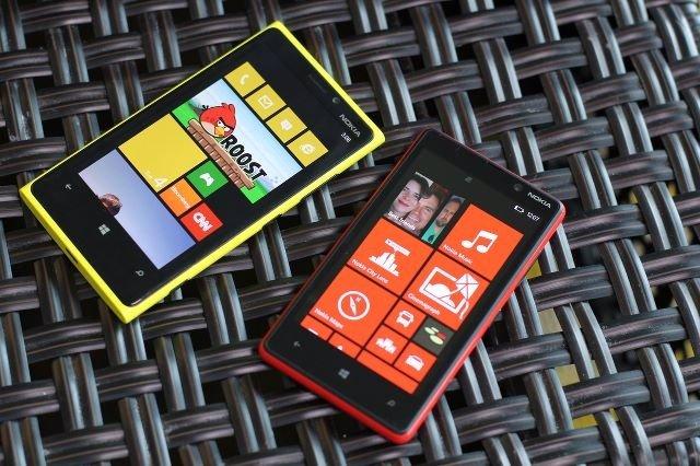 Nokia Lumia 920 y Lumia 800