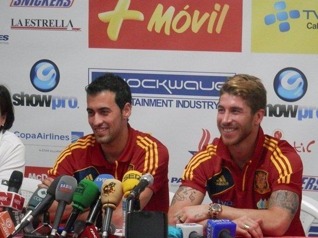 Busquets y Ramos