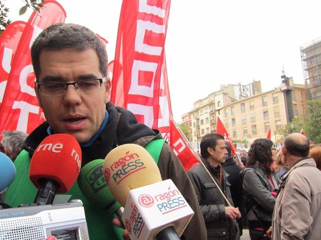 El secretario general de OSTA, Fernando García