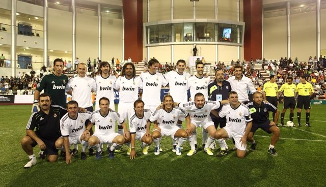 Real Madrid de veteranos