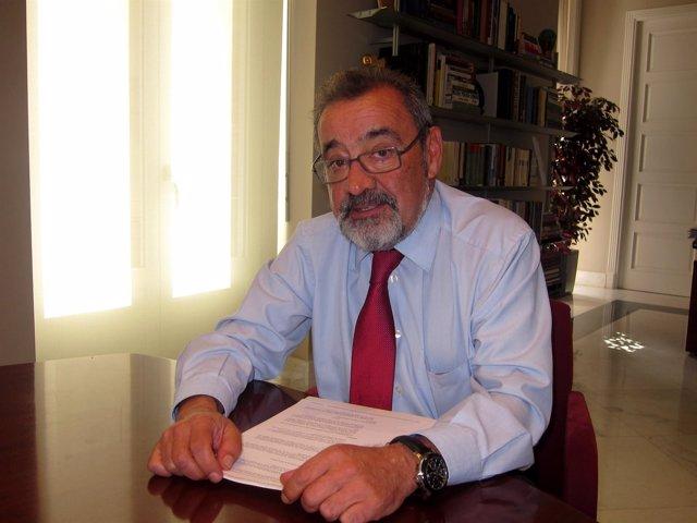 José Vicente González, en una imagen de archivo.