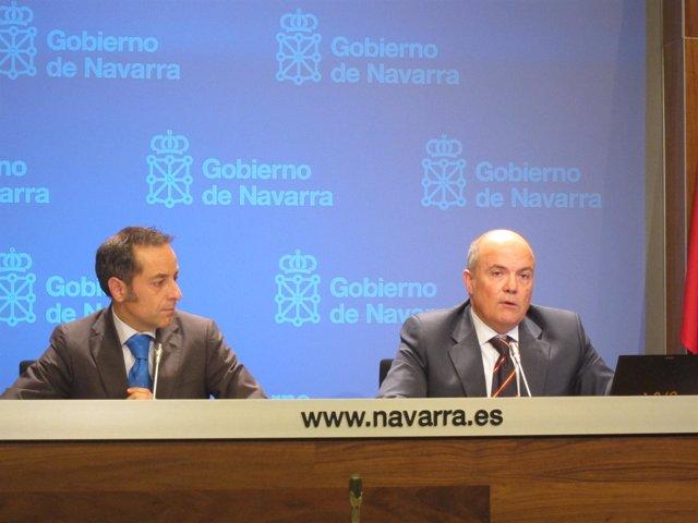 Juan Luis Sánchez de Muniáin y Luis Zarraluqui.