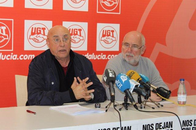 Antonio Herrera y Manuel Ferrer