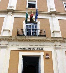 Fachada de la Universidad de Huelva