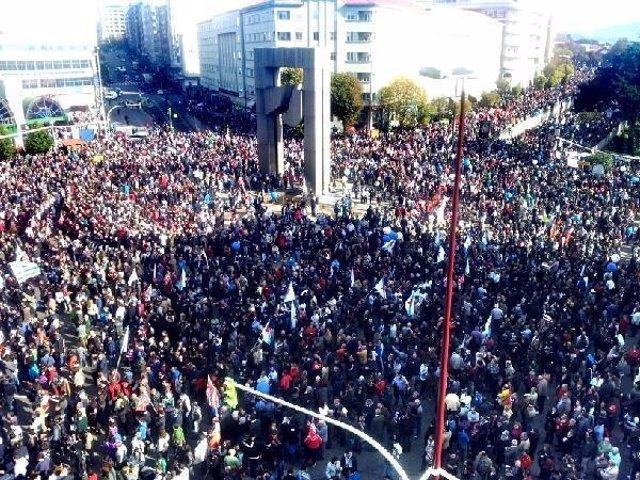 Manifestación Vigo Huelga General 14N