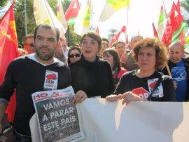 """Elena Cortés dice que esta jornada de movilización ciudadana servirá, como otras veces, para """"cambiar las cosas"""""""