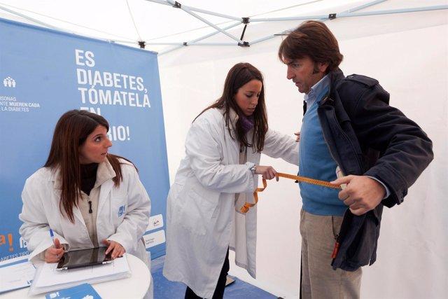 La Campaña De Control De La Diabetes Llega A Sevilla