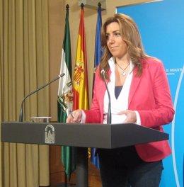Susana Díaz, este miércoles