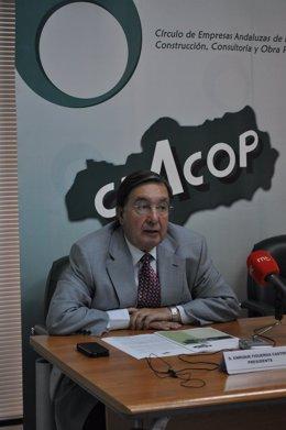 El Presidente De Ceacop, Enrique Figueroa.