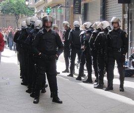 """CCOO condena carga policial """"inesperada"""" e """"inadecuada"""" en inmediaciones de El Corte Inglés"""