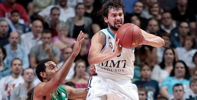 Sergi Llull en la Euroliga ante Panathinaikos