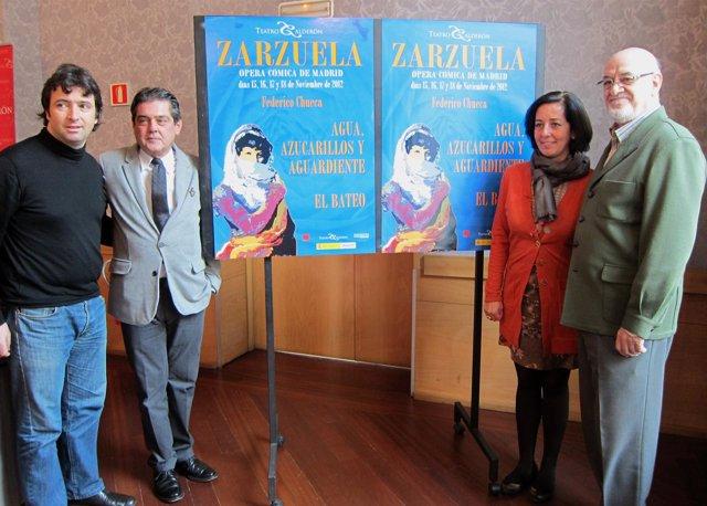 De izq. A drcha. Oliver Díaz,  Viteri, Cantalapiedra y Francisco Matilla