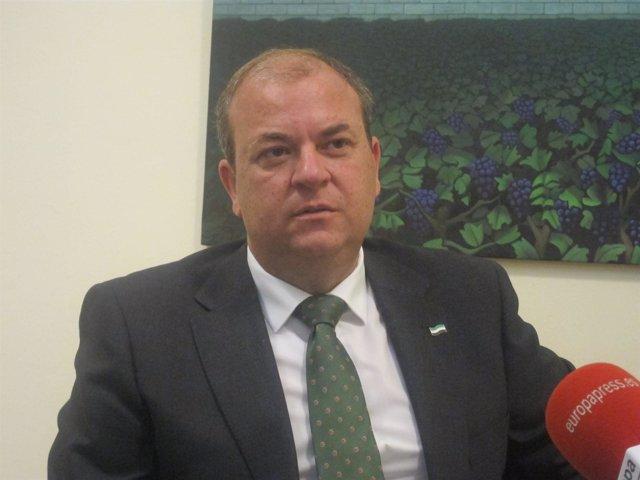 José Antonio Monago Entrevista Por Europa Press
