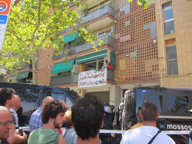 Desahucio Barrio Clot Barcelona