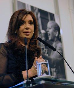 La Presidenta De Argenitna, Cristina Fernández De Kirchner
