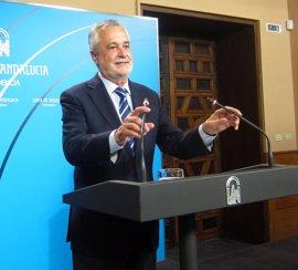 """Griñán afea que Guindos diga que no es """"camino adecuado"""" y señale el plan del Gobierno como """"única alternativa"""""""