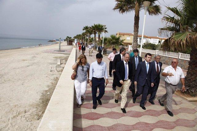 Visita director general de Sostenibilidad de la Costa y el Mar, Pablo Saavedra