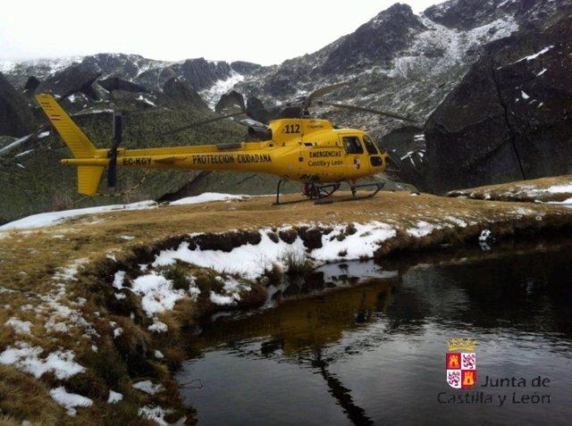 Rescate en la Sierra de Béjar.