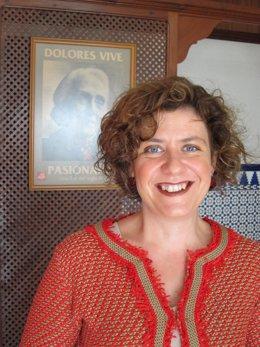 La secretaria del PCA en Córdoba, Alba Doblas