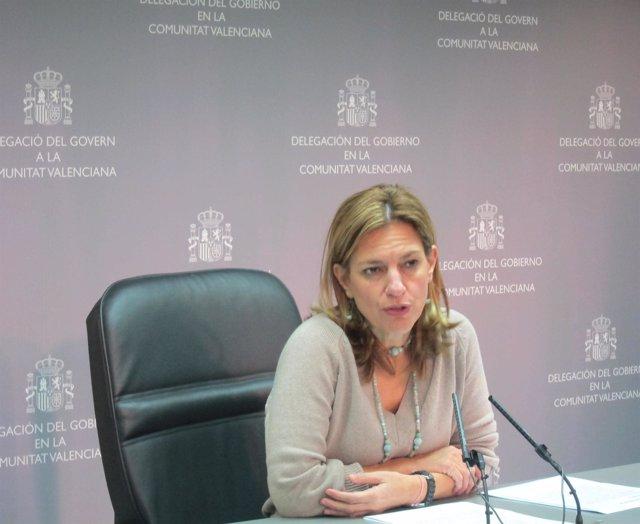 La Delegada Del Gobierno En La Comunitat, Paula Sánchez De León