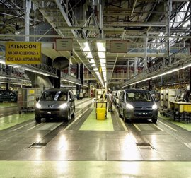 Citroën reanuda la actividad productiva por la tarde tras caer la fabricación un 60% en los turnos anteriores