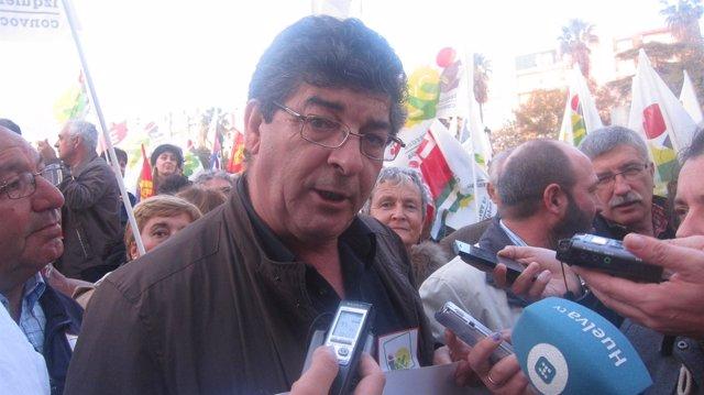 El vicepresidente de la Junta de Andalucía, Diego Valderas.