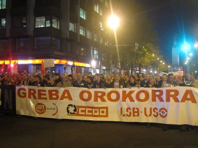 Manifestación de Bilbao
